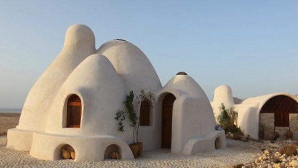 The strange homes designed for Mars