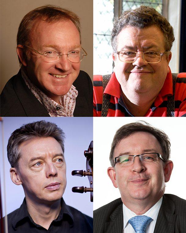 Music experts: Martyn Brabbins, Jeremy Dibble, Will Conway, Derek Hotchkiss