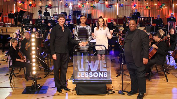 Ten Pieces Party Live Lesson