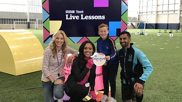 Watch now on iPlayer: Super Movers Shapes and Spaces - Live Lesson