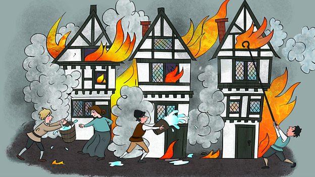 School Radio - The Great Fire of London, Music
