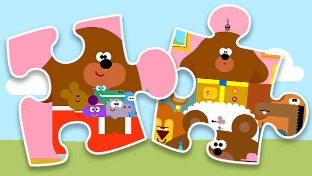 Play Hey Duggee's jigsaw puzzle game for free on CBeebies