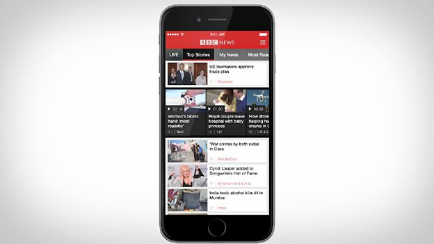 BBC - BBC continues digital transformation of news on the go with