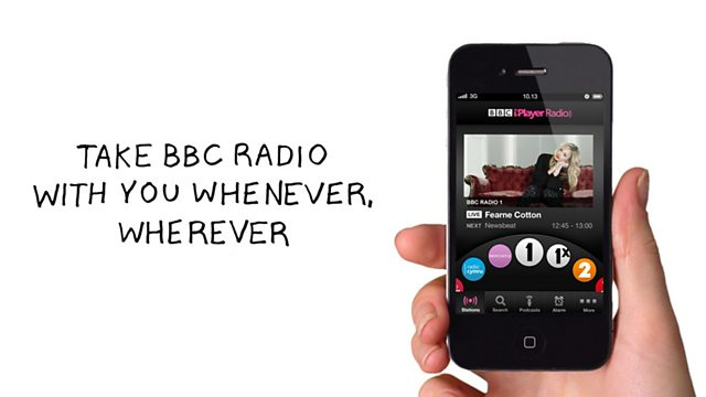 BBC Radio - About iPlayer Radio, BBC iPlayer Radio app for