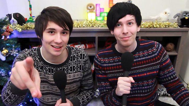 Dan And Phil Christmas Sweater.Bbc Radio 1 Dan And Phil 25 12 2012 Dan And Phil The