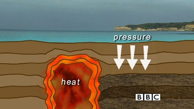 BBC Bitesize - KS3 Chemistry - How is metamorphic rock formed?
