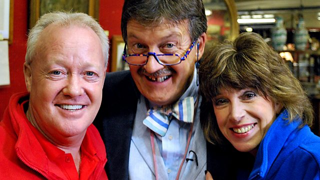 Keith Chegwin and Sally James