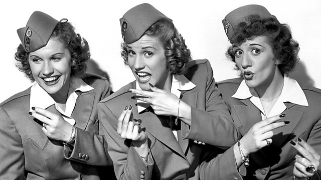bbc four legends the andrews sisters queens of the music machines