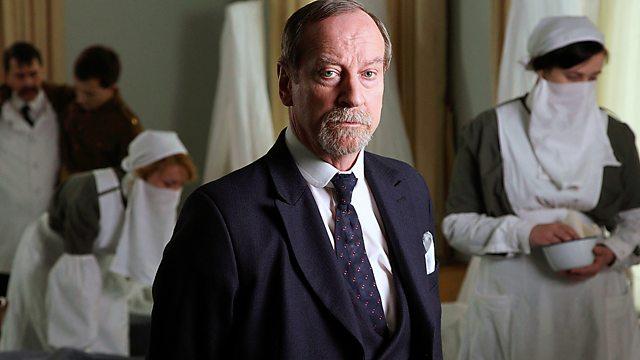 Screenshot from the film Spanish Flu: The Forgotten Fallen