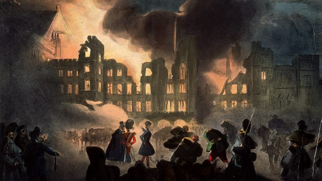 Bbc Parliament The Great Fire Burning Down The House