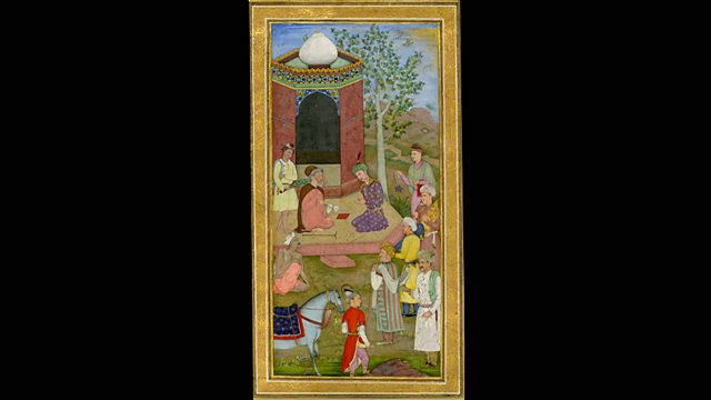 7fd94e889a62 Miniature of a Mughal prince. A History of the World in 100 Objects ...
