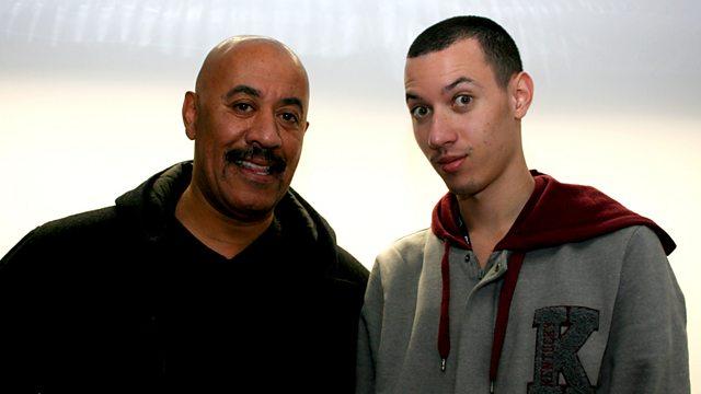 8bb6b710fbb9e Nick s Dad John Bright in the Studio!