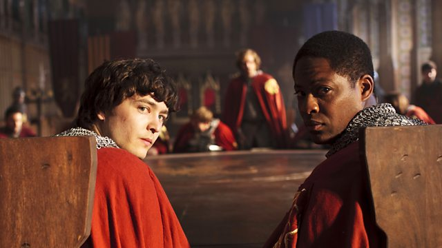 BBC One - Merlin, Series 5, The Death Song of Uther Pendragon
