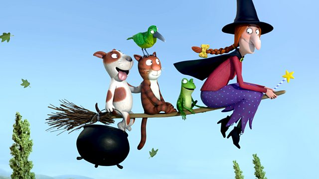 Corto de animación stop-motion de Room on the Broom