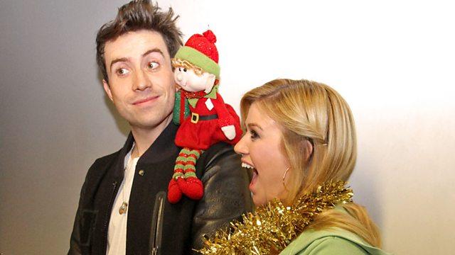 Kelly Clarkson Christmas Eve.Bbc Radio 1 Nick Grimshaw With Kelly Clarkson