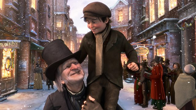 Disneys A Christmas Carol.Bbc One A Christmas Carol