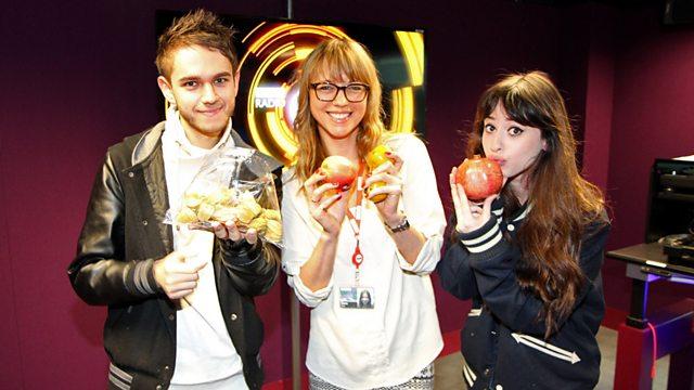 bbc radio 1 sara cox zedd amp foxes in the studio