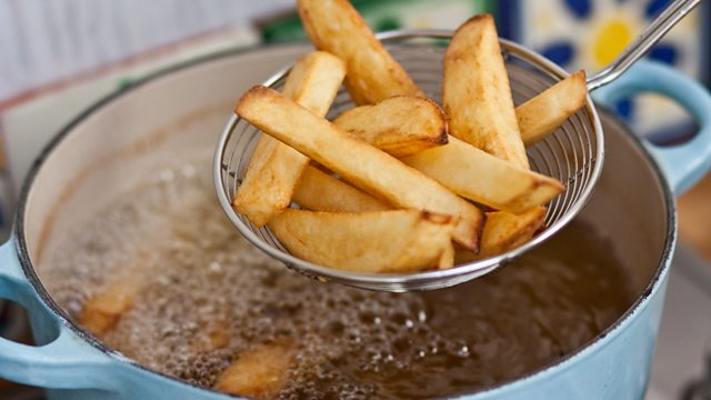 Image result for frying chips