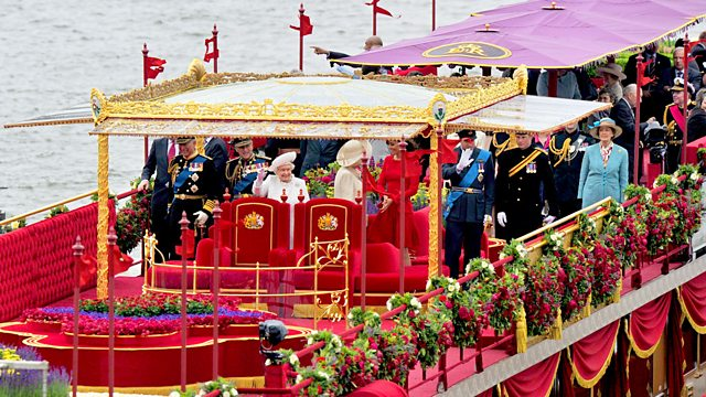 The Diamond Jubilee Thames Pageant