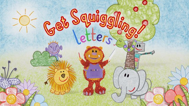 Get Squiggling! Letters