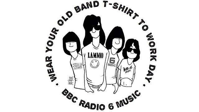 BBC Radio 6 Music - Steve Lamacq, Wear Your Old Band T-Shirt