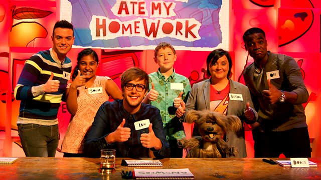 watch the dog ate my homework cbbc