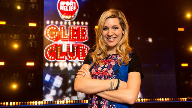 Sport Relief Does Glee Club