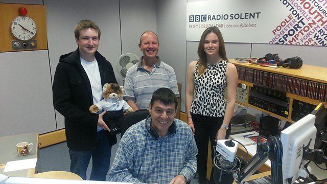 BBC Radio Solent - Nick Girdler, National Garden Scheme