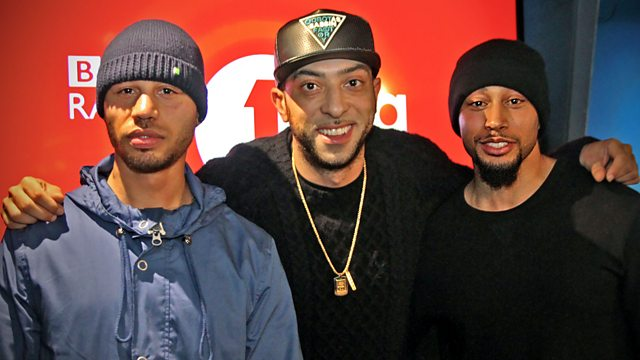 BBC Radio 1Xtra - DJ Target, Splurge Boys In The Studio