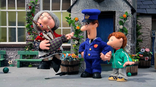 Postman Pat and the Booming Bagpipes