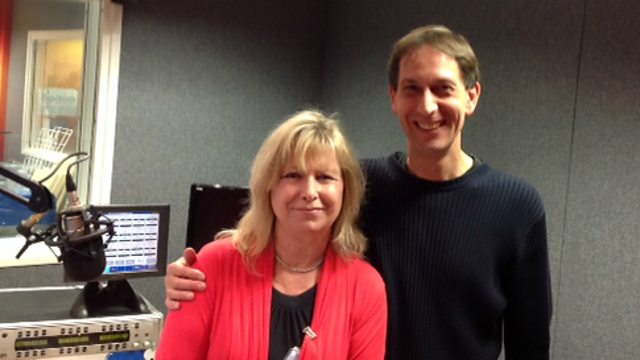 BBC Radio Bristol - Steve Yabsley, Author Jill Mansell and Don the