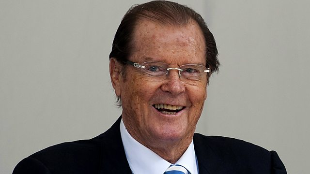 Sire Roger Moore on the Art of Artists on BBC Radio 2