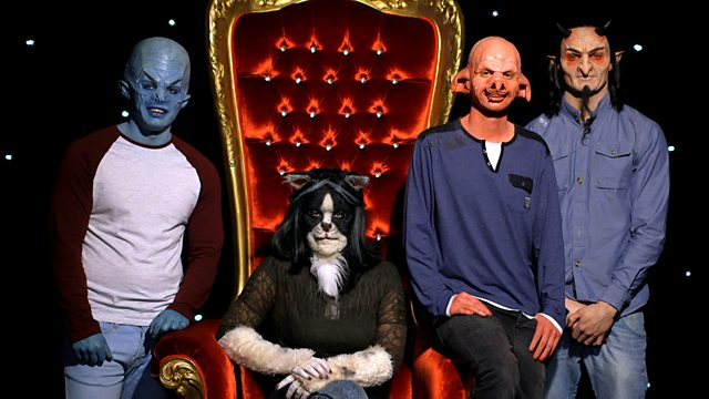 BBC3 mask dating show