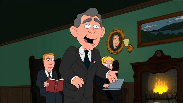 Bbc Three Family Guy Series 9 Excellence In Broadcasting Brian