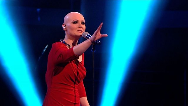 BBC One - The Voice UK, Series 1, Live Show 4, Toni Warne: 'Sorry