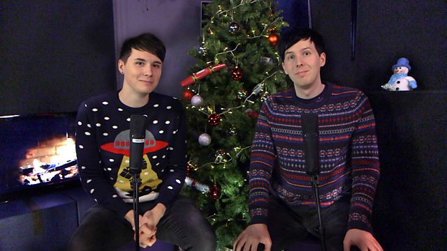 Dan And Phil Christmas Sweater.Bbc Radio 1 Dan And Phil The Best Of The Internet Takeover