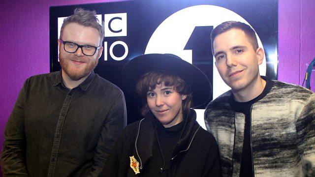 BBC Radio 1 - Huw Stephens, Purity Ring in the studio