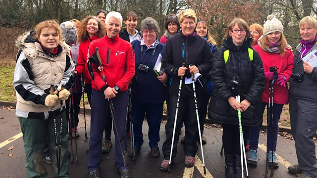 Image result for clare balding nordic walking
