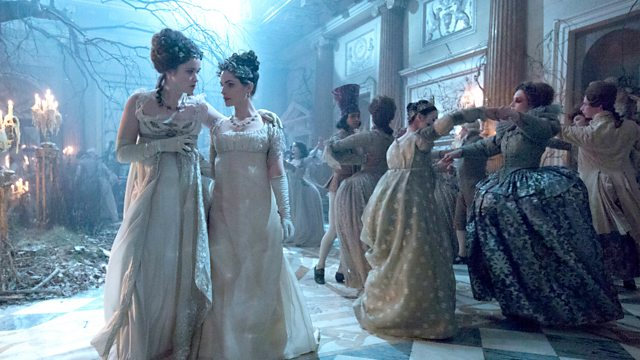 screenshot of magical ball in Faerie from Jonathan Strange and Mr. Norrell