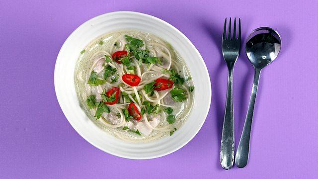 Coconut chicken noodle soup recipe bbc food coconut chicken noodle soup forumfinder Image collections