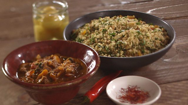 Goat tagine with toasted nut couscous recipe bbc food goat tagine with toasted nut couscous forumfinder Choice Image