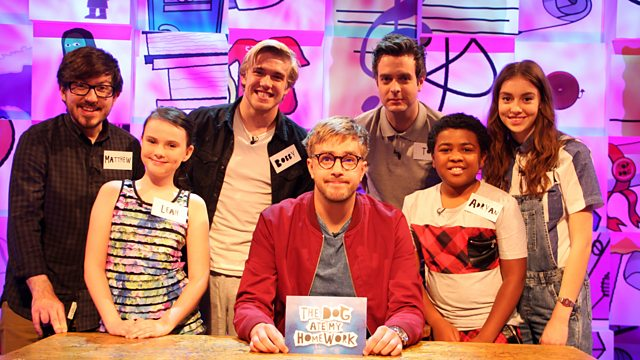 the dog ate my homework cbbc show