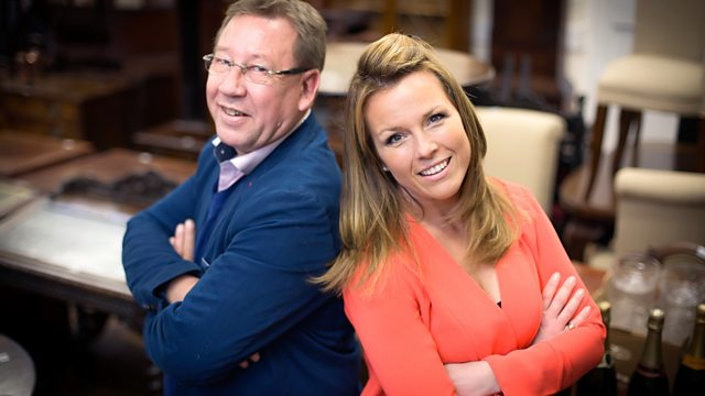 Christina Trevanion v Mark Stacey - UK Antiques Fair