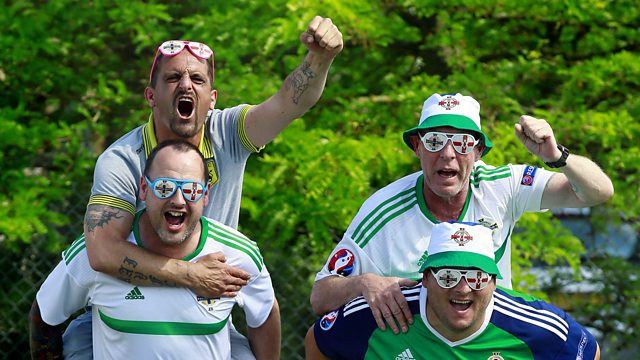 BBC Newsline Special - The Fans in France