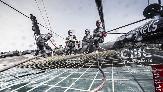 Taking Flight - Britain's America's Cup Challenge