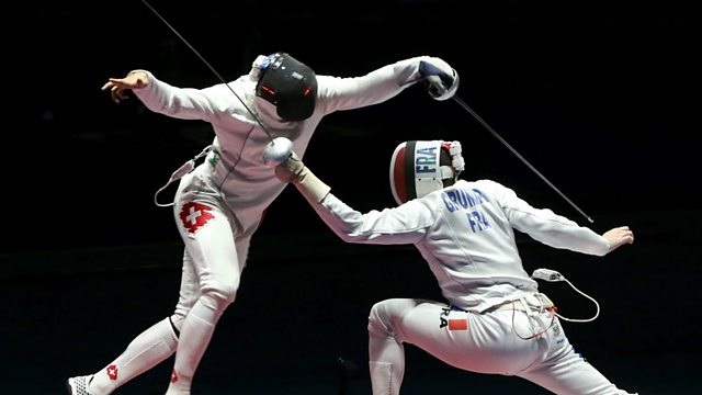 Bbc Sport Olympic Fencing 2016 Final Men S