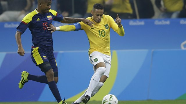 0328cf1d603cc Men s Quarter-final - Brazil v Colombia. Olympic Football 2016