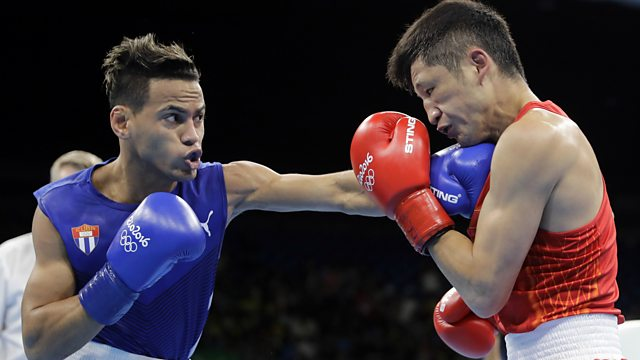 BBC Sport Olympic Boxing Final Mens Lightweight - Olympic boxing schedule