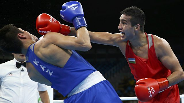 BBC Sport Olympic Boxing Final Mens Welterweight - Olympic boxing schedule