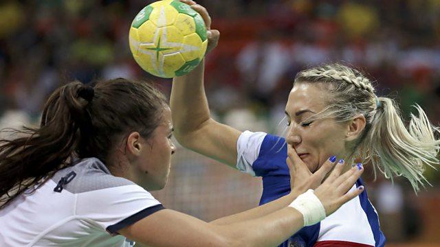 Women s Final - France v Russia. Olympic Handball 2016 896d204f5b
